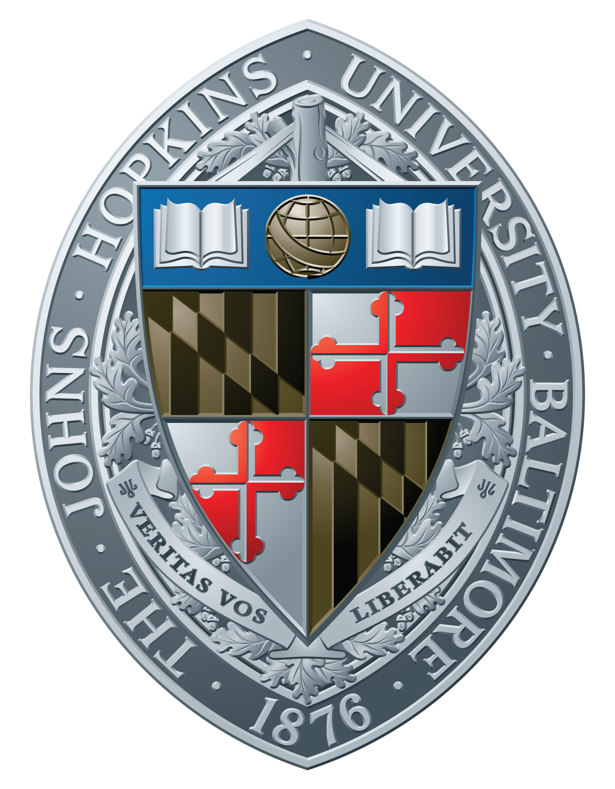 JHU Academic Seal - Color