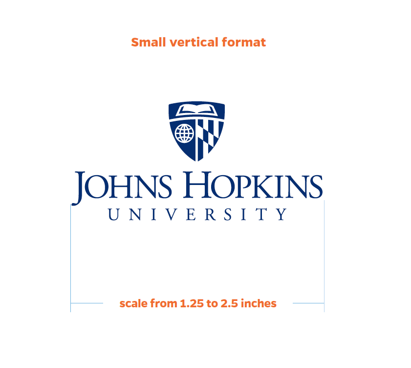 Sizing the Small Vertical Logo