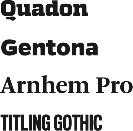 Typography Philosophy